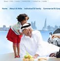 AlAhlia Insurance launched new website using eBuilderCMS.Net