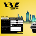We Rent A Car has launched new website using eBuilderCMS.Net